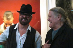 Dave Steward and Morrison Hotel Gallery co-owner, Henry Diltz.