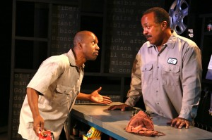 Kareem Ferguson (as Jamal) and Robert Gossett (as Oz)