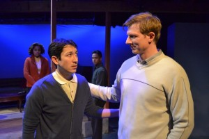 Christian T. Chan and Nick Cimiluca (Mariah Robinson and Alexander Pimentel in background)