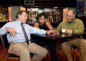 J. Kenneth Campbell, Jaimyon Parker, and Campbell De Silva
